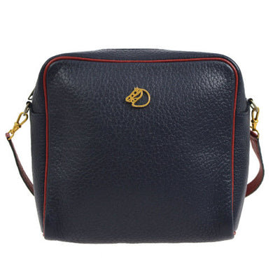 HERMES Horse Shoulder Bag Bi-Color Vachette Grainee Ardenne
