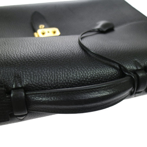 HERMES SAC A DEPECHES 41 Briefcase Ardennes Black