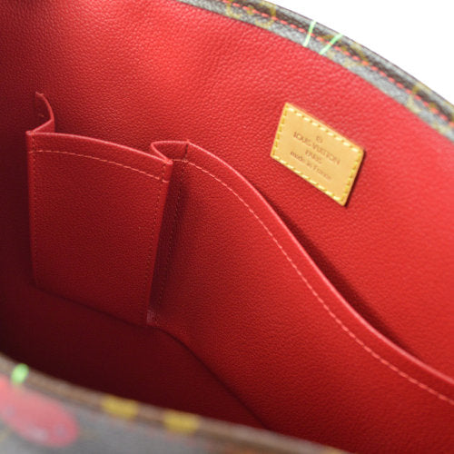 LOUIS VUITTON SAC PLAT HAND TOTE BAG MONOGRAM CHERRY M95010