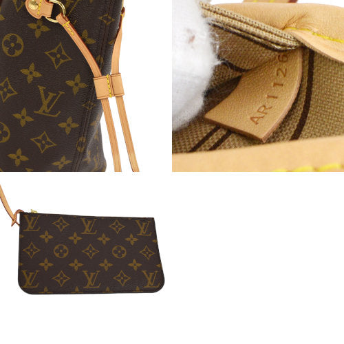 LOUIS VUITTON NEVERFULL PM HAND TOTE BAG MONOGRAM M40155