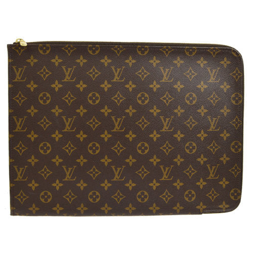 LOUIS VUITTON POCHE DOCUMENTS CASE MONOGRAM M53456