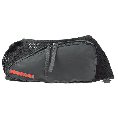 PRADA Sports Bum Bag Waist Pouch Black