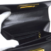 Salvatore Ferragamo Gancini 2way Hand Bag Black