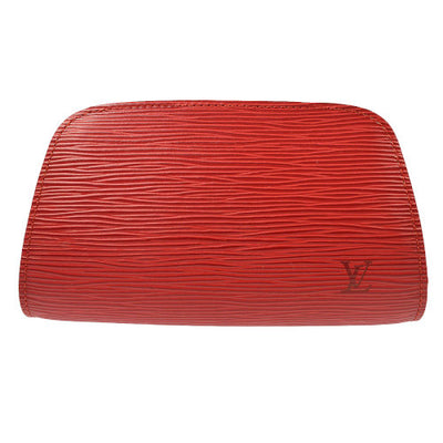 LOUIS VUITTON DEFINE POUCH PURSE RED EPI M48447