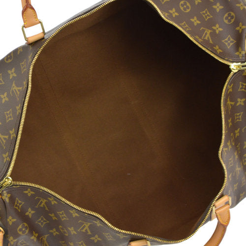 LOUIS VUITTON KEEPALL 60 BANDOULIERE 2WAY TRAVEL HAND BAG MONOGRAM M41412