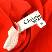 Christian Dior Short Sleeve T Shirt Tops Red