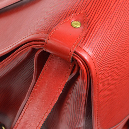 LOUIS VUITTON SAUMUR 43 SP ORDER MESSENGER SHOULDER BAG RED EPI
