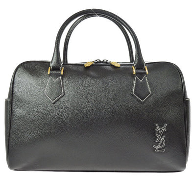 YVES SAINT LAURENT Logos Hand Bag Black