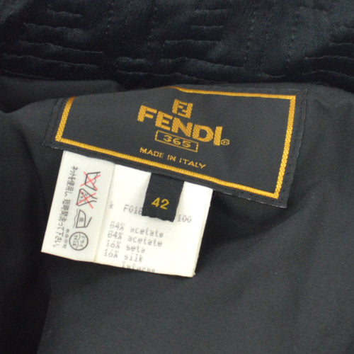 FENDI Zucca Long Sleeve Jacket Black #42