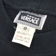 VERSACE Long Sleeve Tops Shirt Black #8