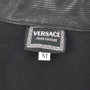 VERSACE Long Sleeve Zip Up Jacket Black #M