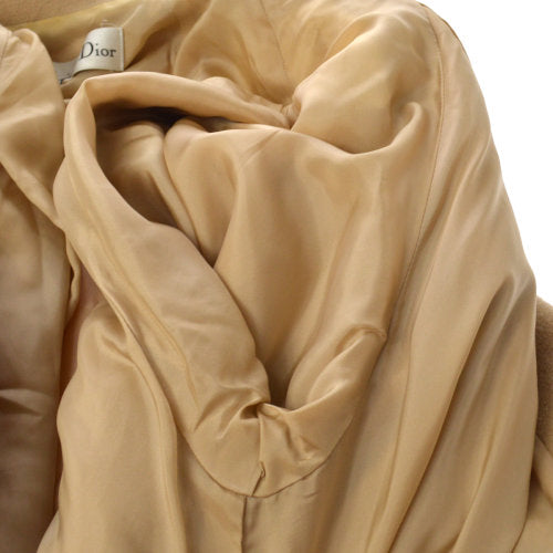 Christian Dior Long Sleeve Coat Beige #11