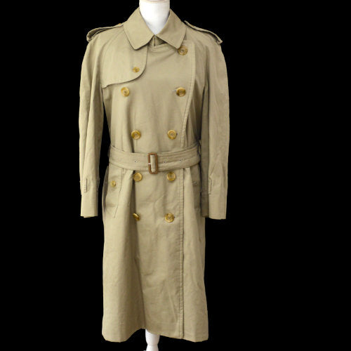Burberry's Long Sleeve Trench Coat Beige