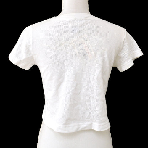 VERSACE Short Sleeve Tops Shirt White