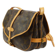 LOUIS VUITTON SAUMUR 30 MESSENGER SHOULDER BAG MONOGRAM M42256