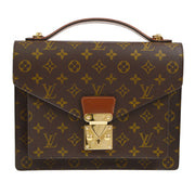 LOUIS VUITTON MONCEAU 28 2WAY HAND BAG MONOGRAM M51185