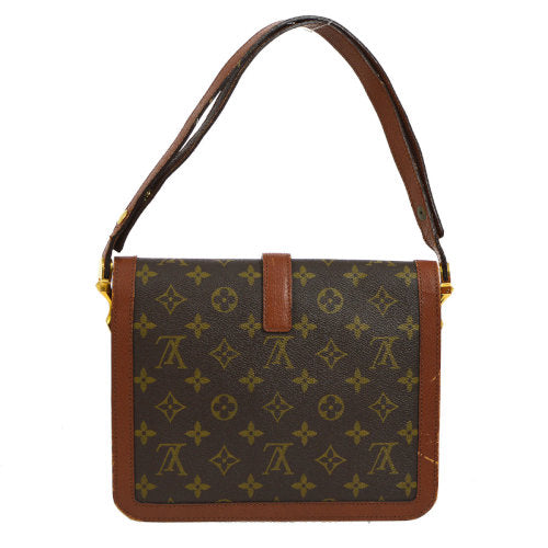 LOUIS VUITTON VINTAGE SHOULDER BAG MONOGRAM