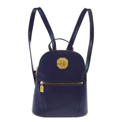 Yves Saint Laurent Logos Backpack Hand Bag Blue