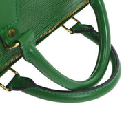 LOUIS VUITTON SPEEDY 30 HAND BAG GREEN EPI LEATHER M43004
