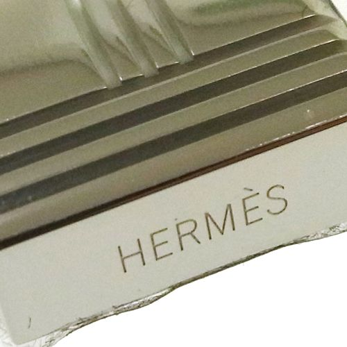 HERMES Berloque Olga Ruthenium Amulette Horse Cadena Key Holder