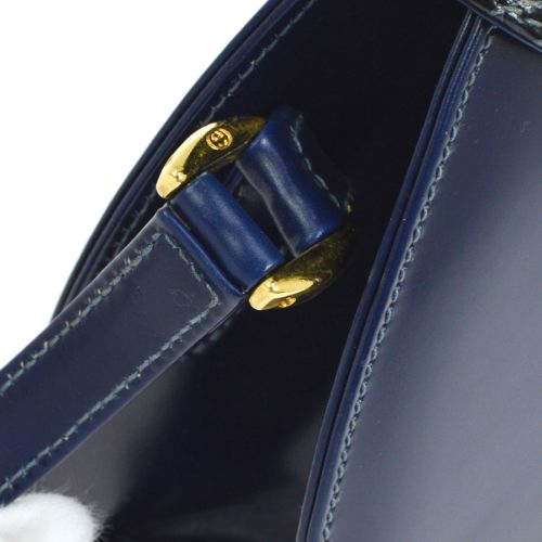GUCCI Cross Body Shoulder Bag Dark Blue