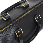 LOUIS VUITTON SPEEDY 25 HAND BAG BLACK EPI LEATHER M43012