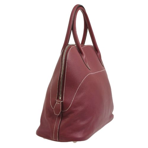 HERMES BOLIDE RELAX 35 Hand Bag Pink Veau Swift