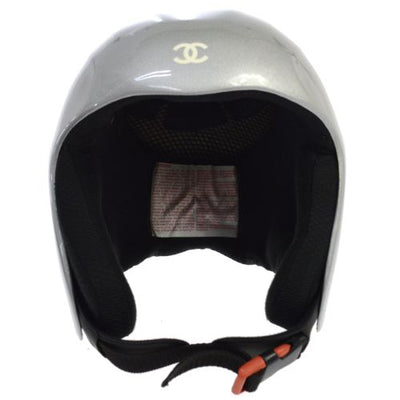 CHANEL Snow Line Helmet Gray
