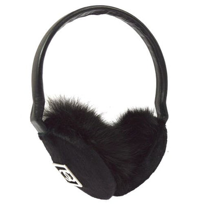 CHANEL Sport Line CC Logos Cold Weather Earmuffs Black