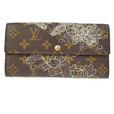 LOUIS VUITTON PORTEFEUILLE SARAH WALLET MONOGRAM DENTELLE M95390