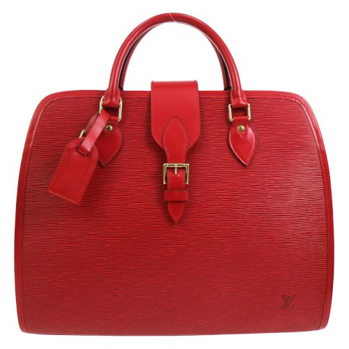 LOUIS VUITTON RIVOLI 2WAY BUSINESS HAND BAG RED EPI LEATHER SP ORDER
