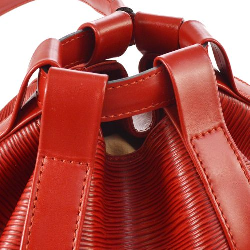 LOUIS VUITTON RANDONNEE PM SHOULDER BAG RED EPI M52357