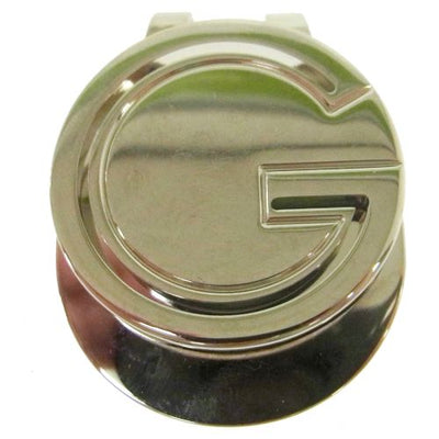 GUCCI GG Logos Money Clip Silver