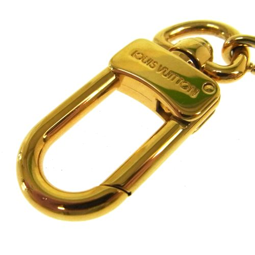 LOUIS VUITTON Anokre Bag Charm Key Holder Gold M62694