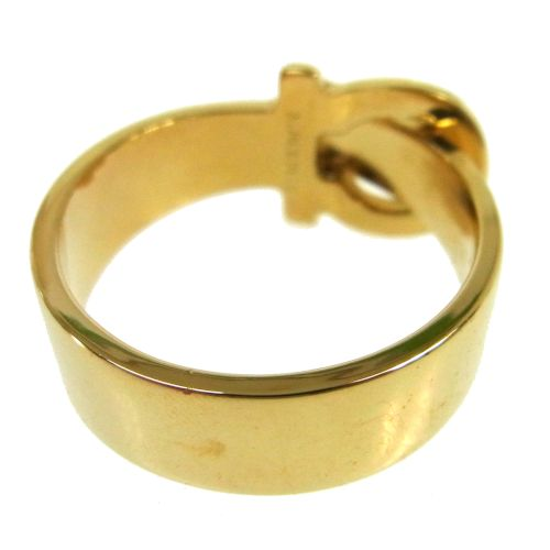 Salvatore Ferragamo Ganchini Scarf Ring Gold