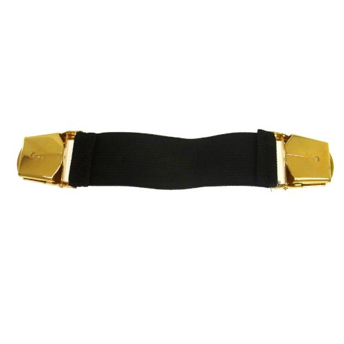 CHANEL CC Logos Arm Band Belt Gold