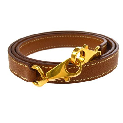 HERMES Shoulder Strap For Kelly Brown Couchevel