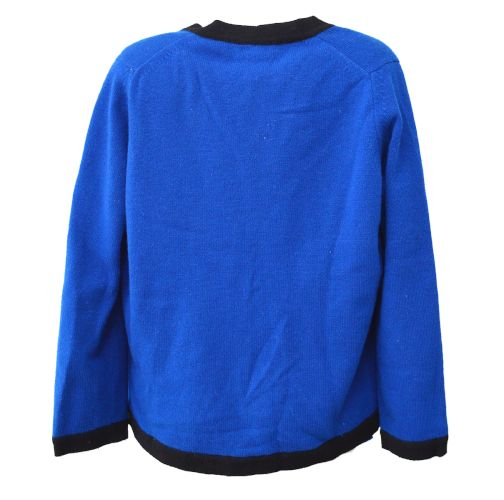 CHANEL CC Logos Ensemble Cardigan Tops Blue