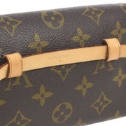 LOUIS VUITTON POCHETTE FLORENTINE BUM BAG #S MONOGRAM M51855