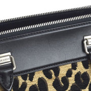 LOUIS VUITTON North South 2012-13 Hand Bag Monogram Leopard M94258