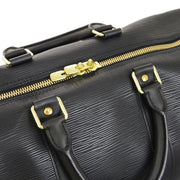 LOUIS VUITTON KEEPALL 45 TRAVEL HAND BAG BLACK EPI M59152