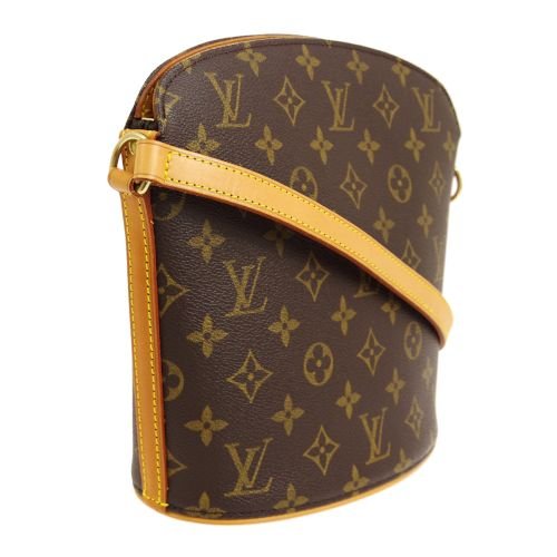 LOUIS VUITTON DROUOT CROSS BODY SHOULDER BAG MONOGRAM M51290