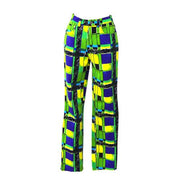 VERSACE Medusa Long Pants Green