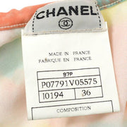 CHANEL Flower CC Sleeveless Swimwear Swimsuit 97P