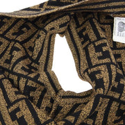 FENDI Zucca Pattern Sleeveless Knit Tops Brown