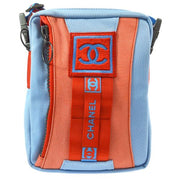 CHANEL Sport Line Hi Summer Shoulder Bag Light Blue