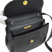 Yves Saint Laurent Cross Body Shoulder Bag Black