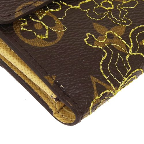 LOUIS VUITTON PORTEFEUILLE ELLIEZE WALLET MONOGRAM DENTELLE M95395