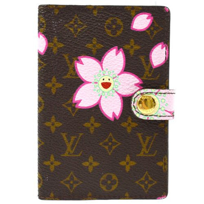 Louis Vuitton Agenda Mini Notebook Cover Monogram Cherry Blossom
