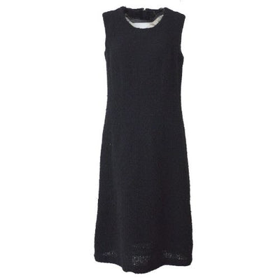 COMME Des GARCONS Sleeveless One Piece Dresses Black